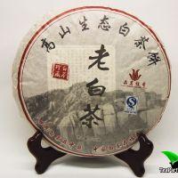 Прессованный белый чай Лао Бай Ча, 2014г, 350гр(блин)