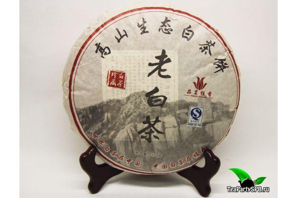 Прессованный белый чай Лао Бай Ча, 2014г, 350гр