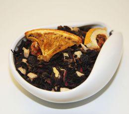 Черный ароматизированный чай - Альпийский глинтвейн