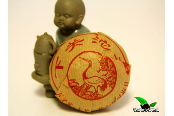 Цзя Цзи (Сягуань), Шен Пуэр, 2013год, 100гр