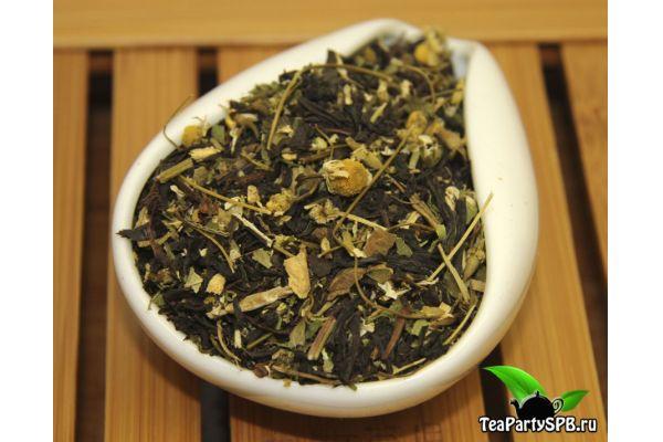 Черный чай с добавками - Банный