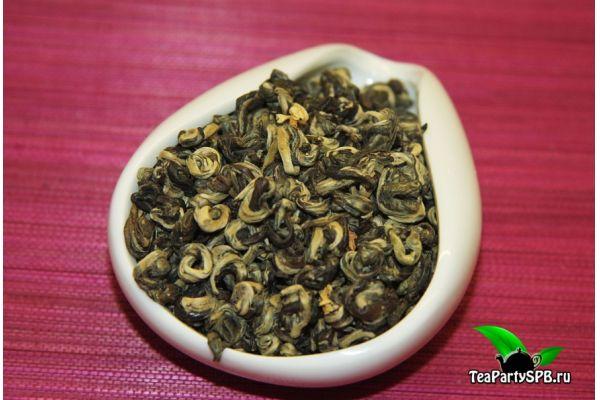 Моли Юй Ло, зеленые спирали с жасмином 2016год