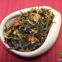 Зеленый с черным ароматизированный чай - Арабская ночь