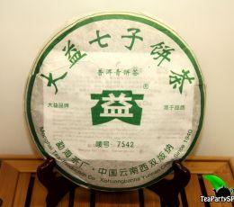 Мэнхай Да И 7542 Шен пуэр, 2006год, 357г (блин)