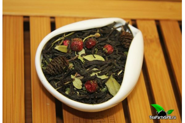 Черный чай с добавками - Байкальский