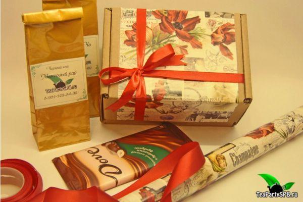 Подарочный набор чая - «Вкусные штучки»