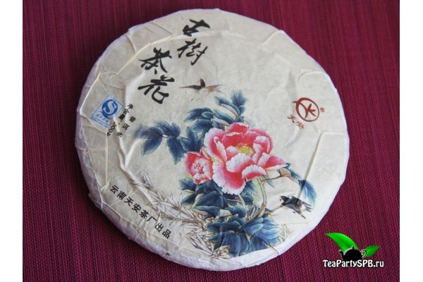 Гу Шу Ча Хуа, цветы со старых пуэрных деревьев