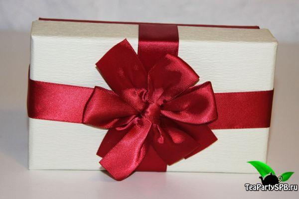Подарочная коробка для чая и конфет - №4