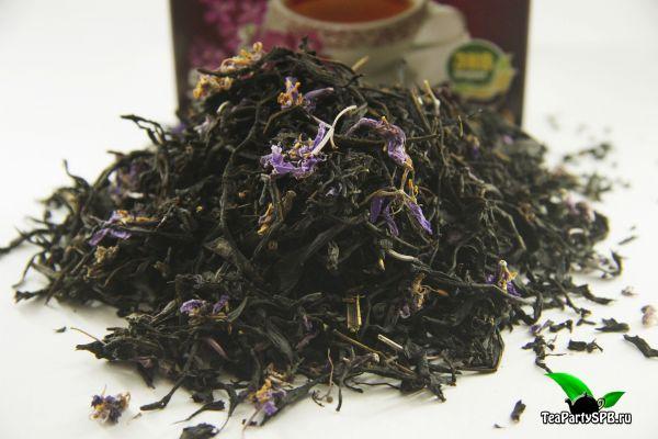 Байкальский Иван-чай с цветами Кипрея, листовой ферментированный