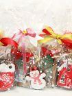 Чайный подарок с чаем и сувенирным печеньем ручной работы - «Сладкая жизнь»