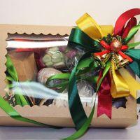 Новогодний Подарочный набор чая и сладостей «Рождественская история»