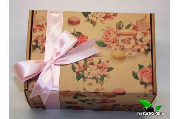 Подарочный набор  чая и конфет - «Для милых дам»