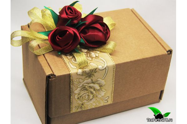 Подарочный набор  чая и сладостей - «Радость»