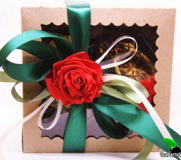 Подарочный набор  чая и сладостей - «Цветные сны»
