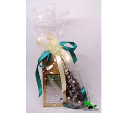 Подарочный набор чая и сладостей - «Цветочки»