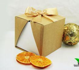 Подарочный набор с аромалампой и маслом - «Сладкий апельсин»
