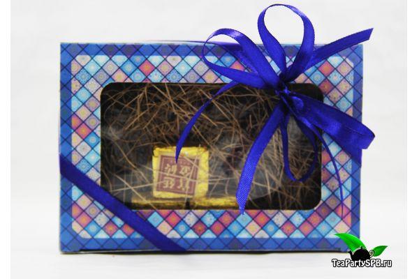 Подарочный набор с чаем - «Сокровища Китая»