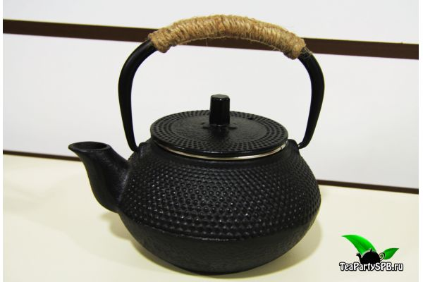 Чугунный заварочный чайник, 250мл