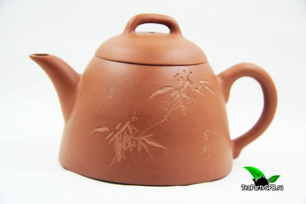 "Исинский глиняный чайник ""Цяо Лян"", 180 мл"