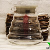 """Стеклянный чайник из жаропрочного стекла """"Облако"""", объем 600 мл"""