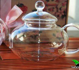 Стеклянный заварочный чайник, объем 600 мл