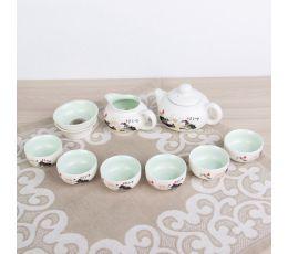 Набор посуды для чайной церемонии №7 (9 предметов, чайник 180мл, пиалы 70мл)