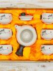 Набор посуды для чайной церемонии №5 (7 предметов, чайник 180 мл, пиала 60 мл)