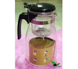 Чайник заварочный ГунФу с кнопкой и носиком, типод(типот), 900мл