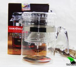 Чайник заварочный Kamjove ГунФу с кнопкой и носиком, типод(типот), 300мл