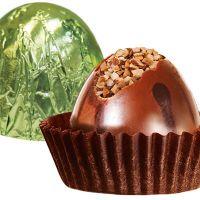Шоколадная конфета с дробленым фундуком, 100г