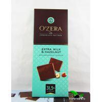 Шоколад молочный «O`Zera» Extra milk & Hazelnut, 90г