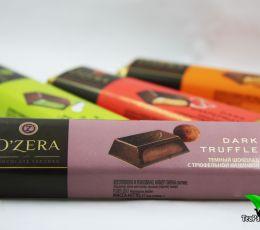 Шоколадный батончик с трюфельной начинкой «O`Zera» Dark Truffle, 50г