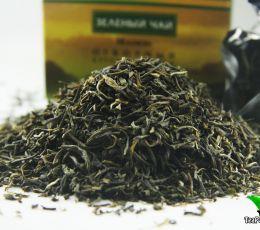 Маофен ETRE (Высококачественный зеленый крупнолистовой чай), 100г