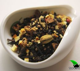 Черный ароматизированный чай - Апельсиновое печенье