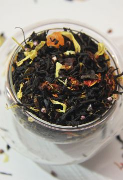 Черный ароматизированный чай - Байкальская ночь