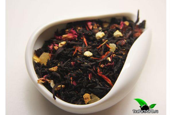 Черный ароматизированный чай - Император