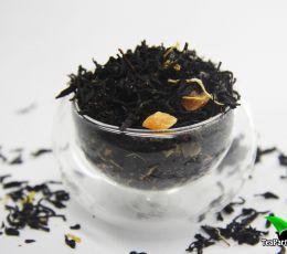 Черный ароматизированный чай - Сливочная дыня