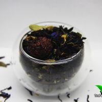 Черный ароматизированный чай - Таежный сбор (черные типсы)