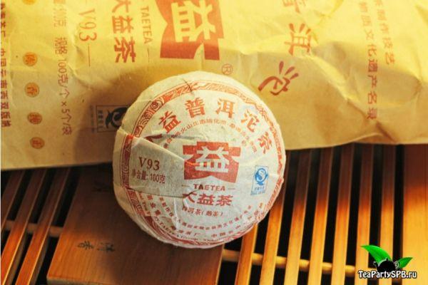 Мэнхай Да И V93 Шу Пуэр,2011год, 100гр(ТоЧа), партия 101