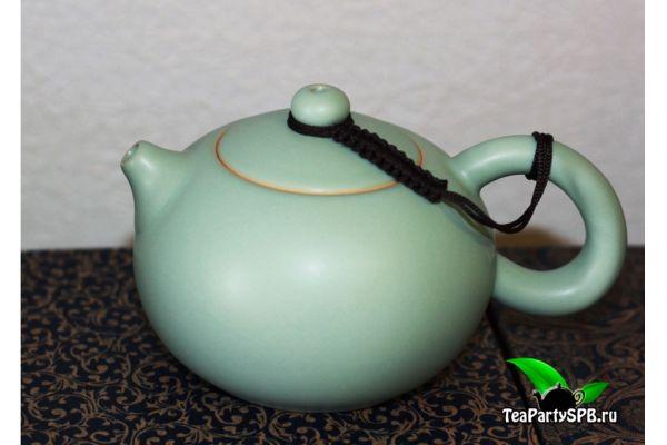 Чайник Си Ши в глазури Жу Яо - №2