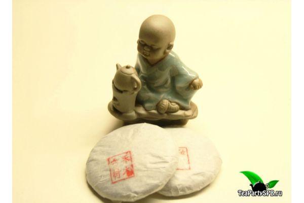 Шен пуэр Цзин май фабрики Тяньань 50 гр блин