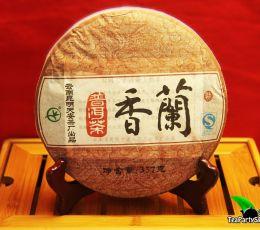 Тянь Ань Лань Сян шу пуэр, 2008 год, 357гр (блин)