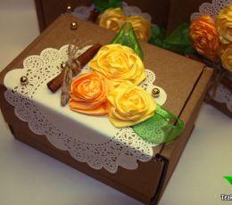 Подарочный набор из чая «Чайная роза»