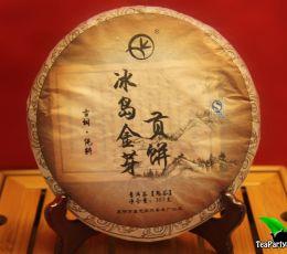 Бин Дао Цзинь Я, Шу пуэр (Гун Тин),  2009год, 357гр