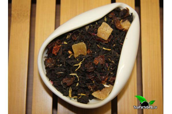 Черный ароматизированный чай - Волшебная луна