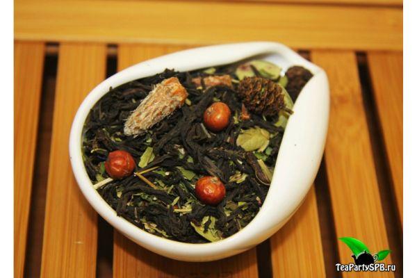 Черный чай с добавками - Монастырский