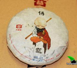 Мэнхай Да И УКун Шу пуэр,2016год, 100гр (блин)