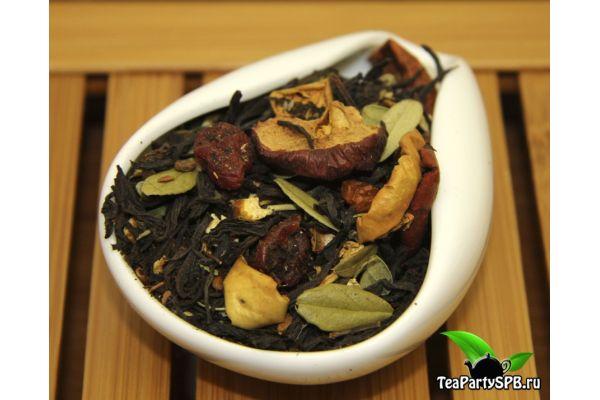 Черный ароматизированный чай - Питерский
