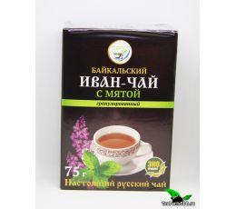 Иван-чай гранулированный с мятой, 75г
