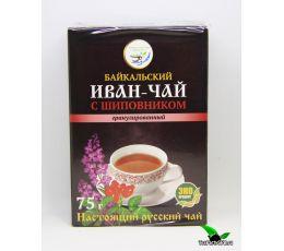 Иван-чай гранулированный с шиповником, 75г